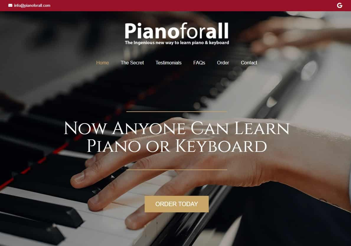 Pianoforall Piano Lessons for Beginners