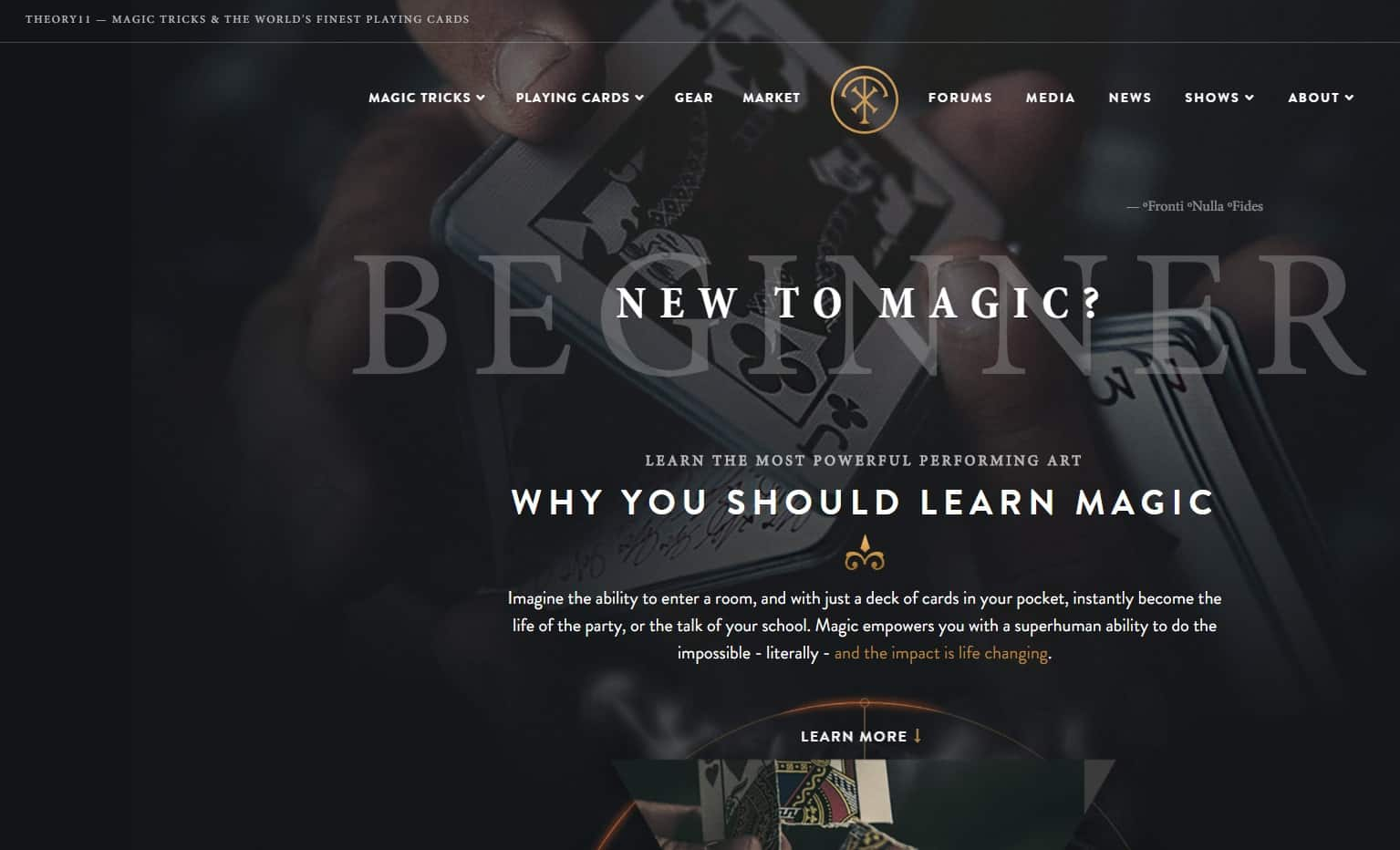 Theory11 Magic Lessons for Beginners