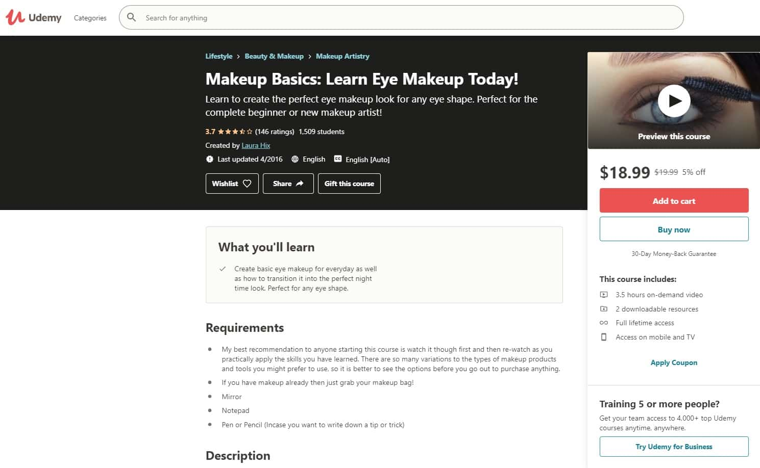 Udemy 1 Makeup and Beauty Lessons for Beginners