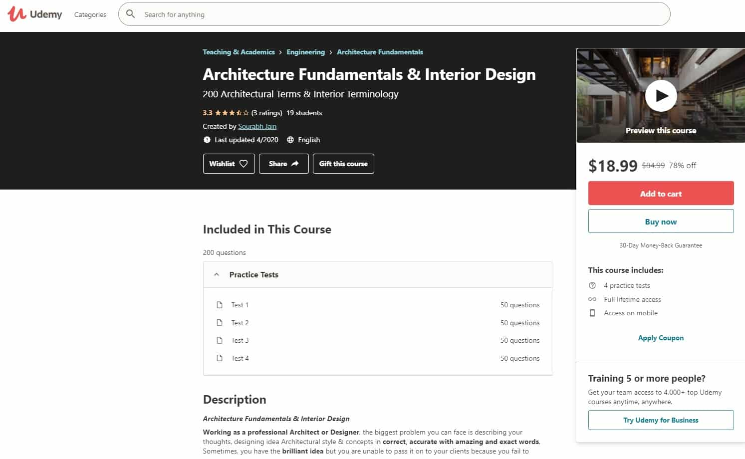 Udemy 2 Design and Architecture Lessons for Beginners