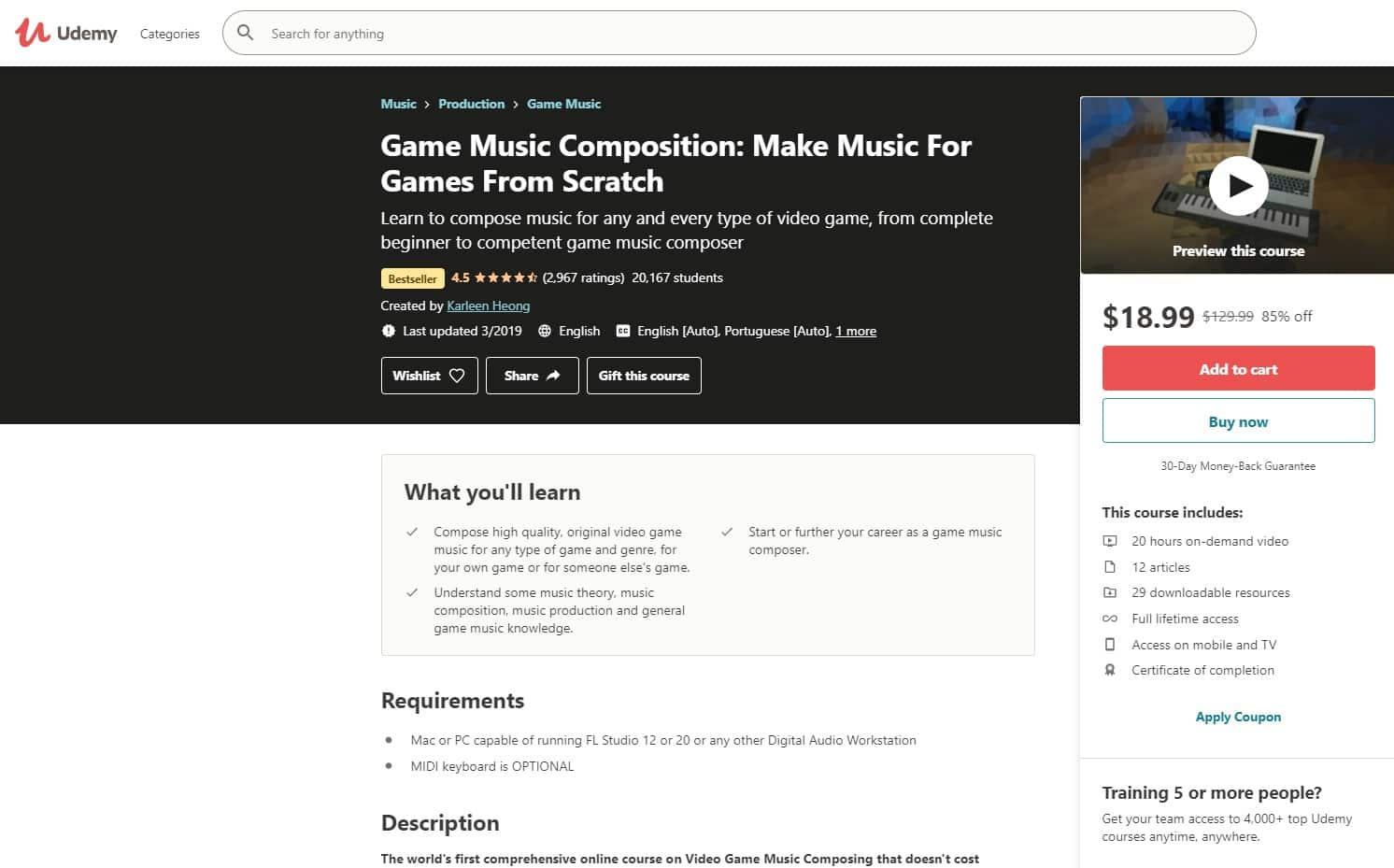 Udemy 2 Music Production Lessons for Beginners