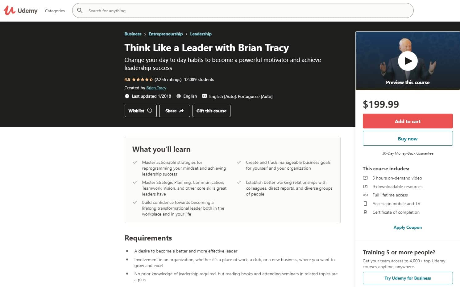 Udemy 3 Leadership Lessons for Beginners