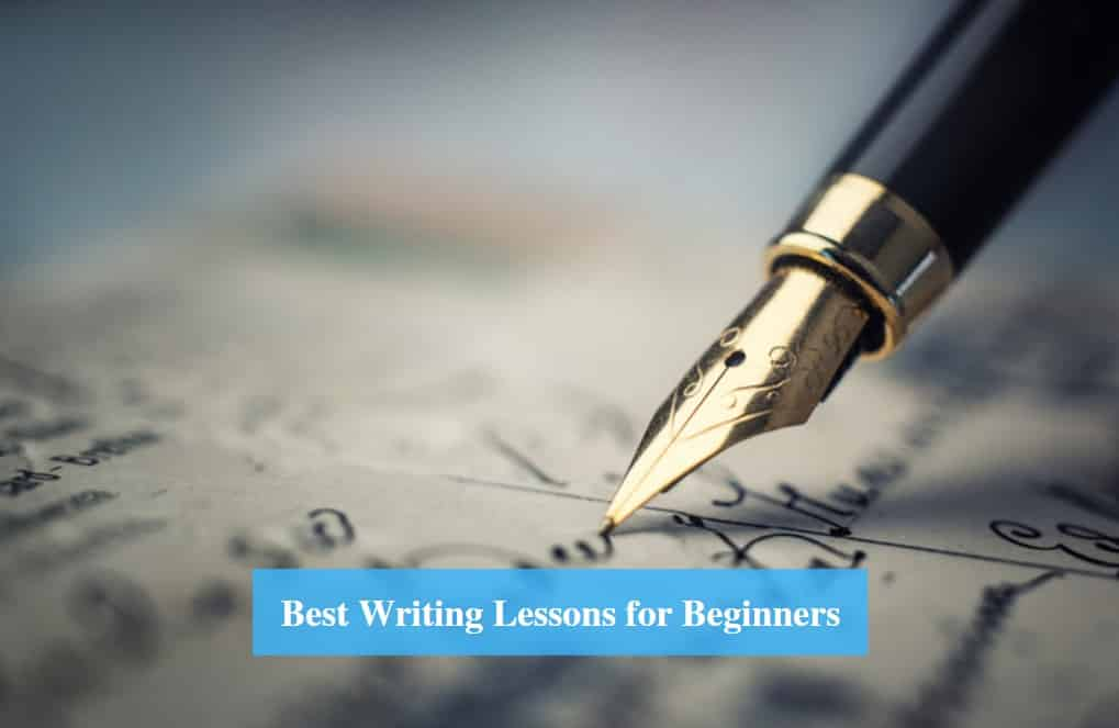 Writing Lessons for Beginners