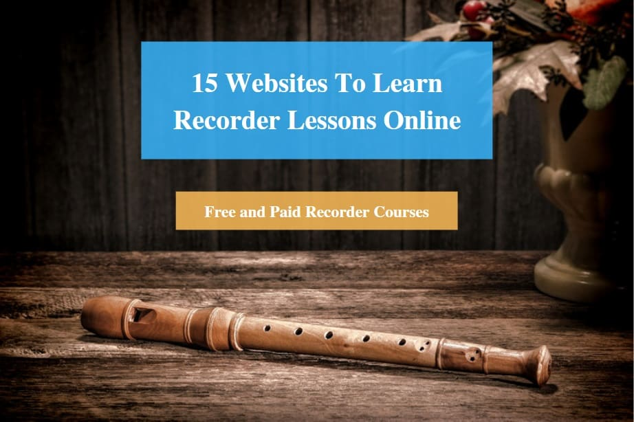 Learn Recorder Lessons Online
