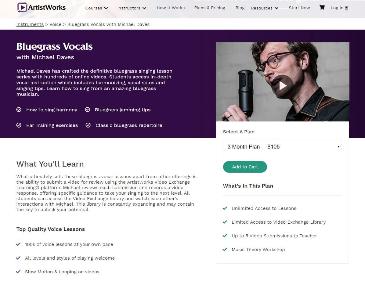 artistworks-Michael-Daves-bluegrass-vocals-lesson-review