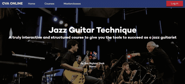cvaonline learn jazz guitar lessons online