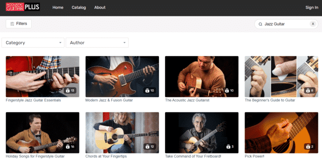 guitarcast learn jazz guitar lessons online