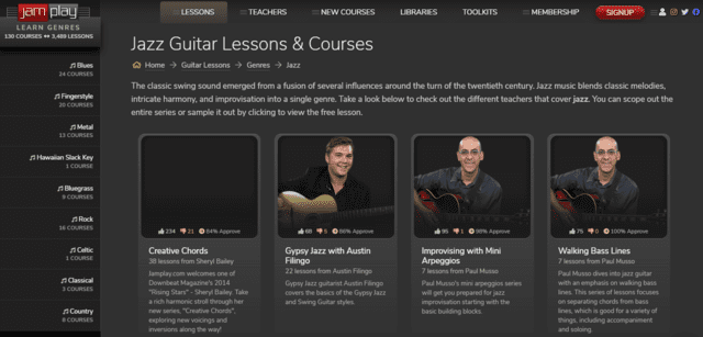 jamplay learn jazz guitar lessons online