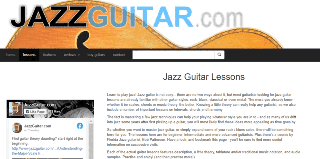 jazzguitar learn jazz guitar lessons online