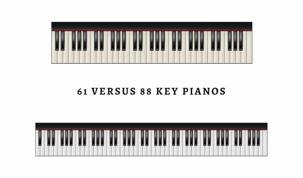 61 Versus 88 Key Pianos
