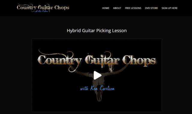 countryguitarchops learn guitar hybrid picking lessons online