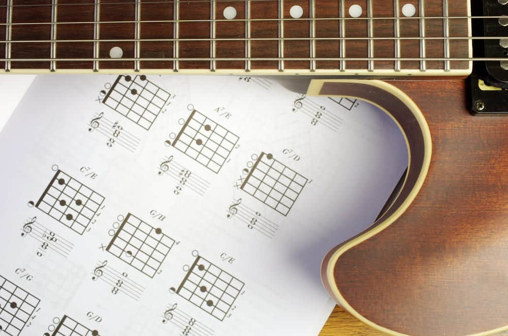 learn guitar chord melody lessons online
