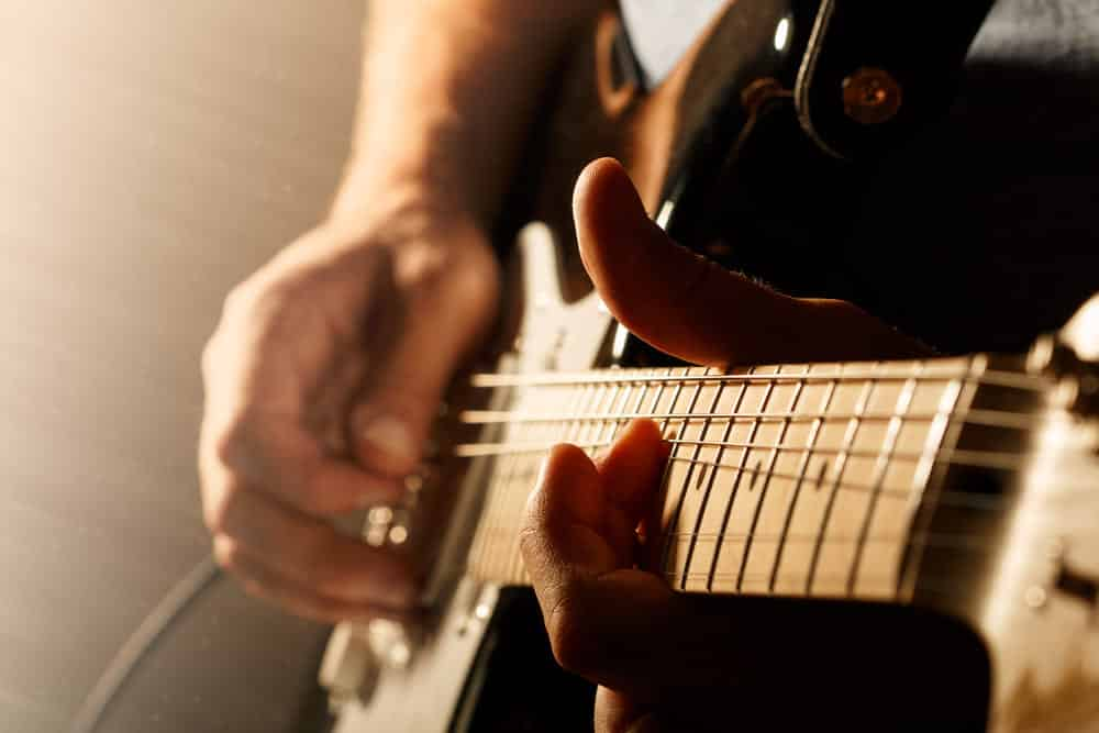 learn guitar string bending lessons online