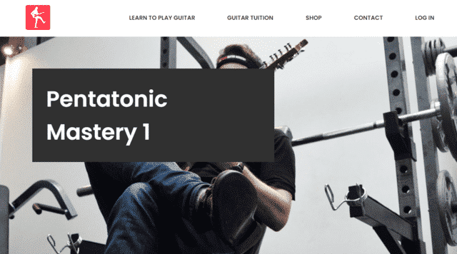 yourguitaracademy learn guitar pentatonic lessons online