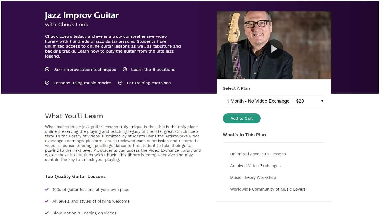 Jazz Improv Guitar with Chuck Loeb