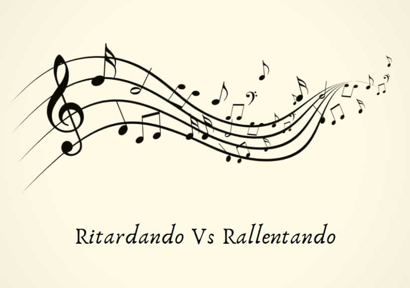 Ritardando Vs Rallentando