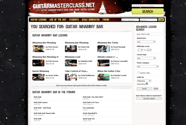 guitarmasterclass learn guitar whammy bar lessons online