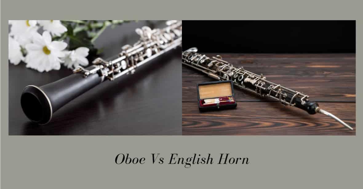 Oboe Vs English Horn