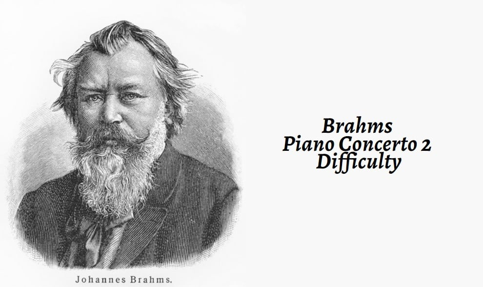 Brahms Piano Concerto 2 Difficulty