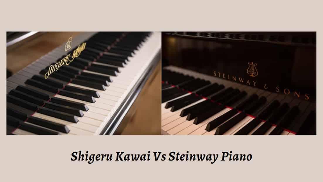 Shigeru Kawai Vs Steinway Piano