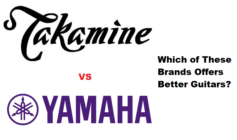 takamine vs yamaha guitar